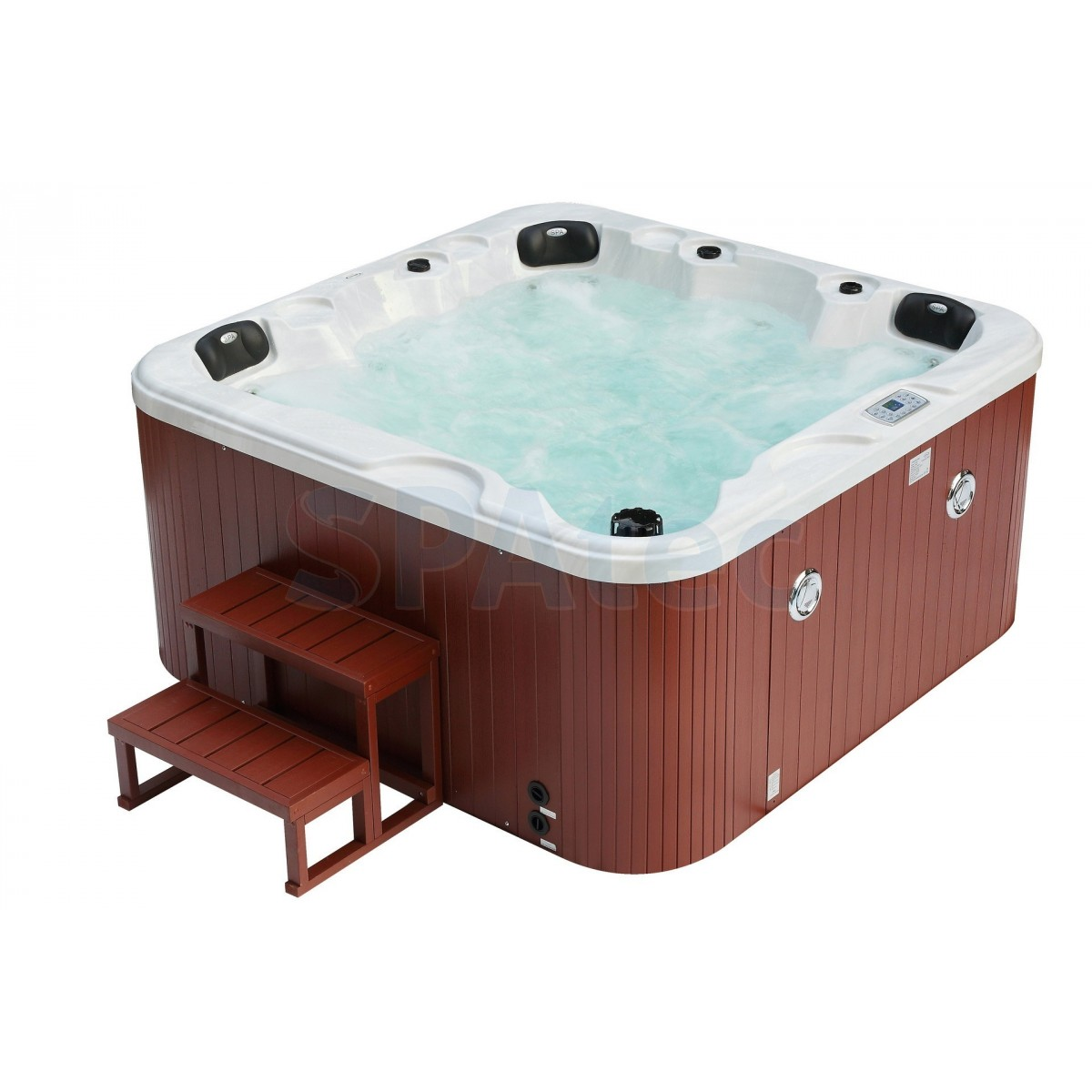 promo jacuzzi exterieur interesting spa gonflable intex pure spa octogonale places assises with. Black Bedroom Furniture Sets. Home Design Ideas