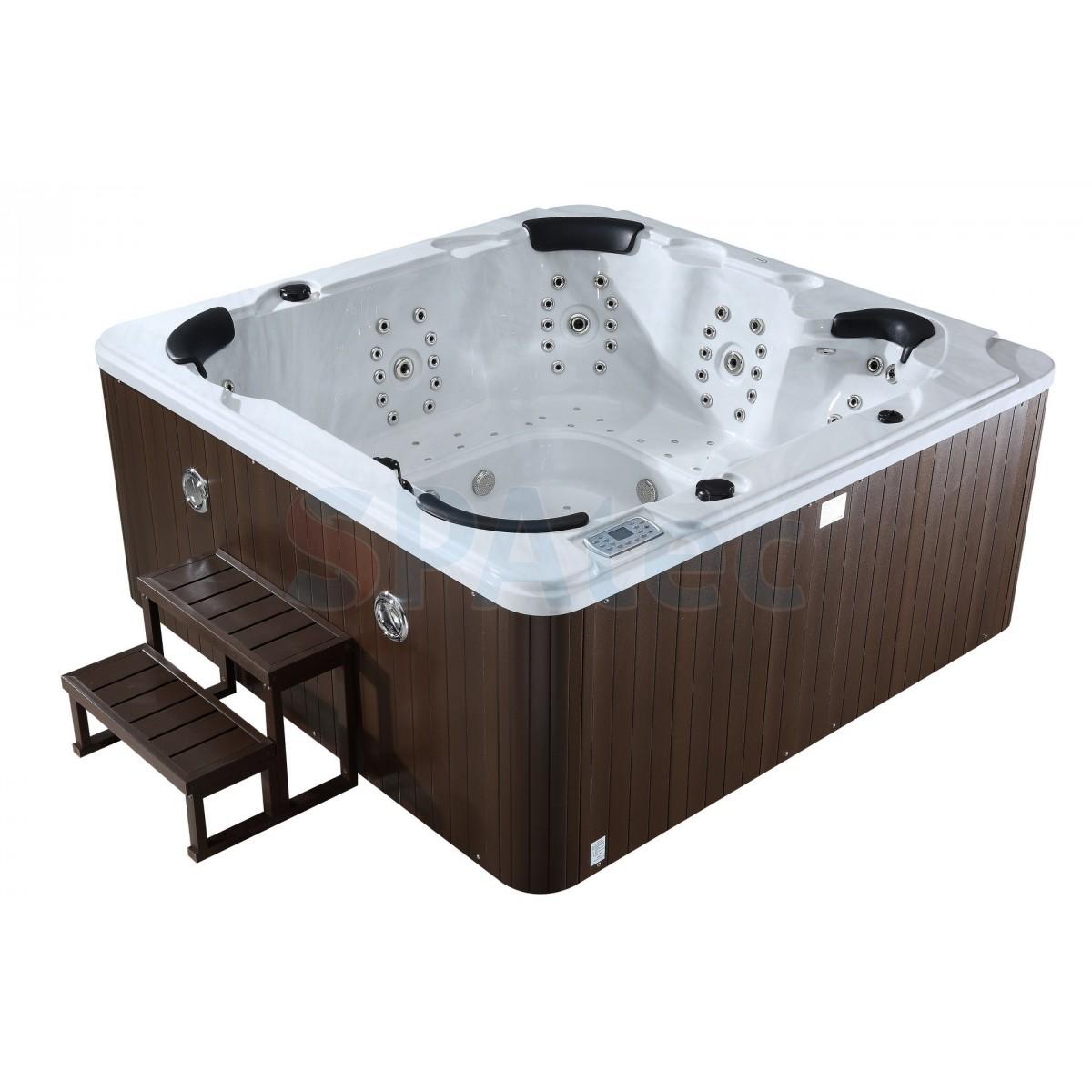 Spatec 800 blanc hydrostore - Salon exterieur blanc ...