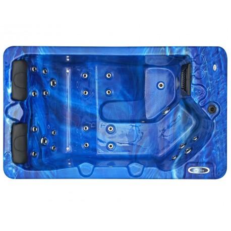 Jacuzzi spa extérieur SPAtec 300B bleu