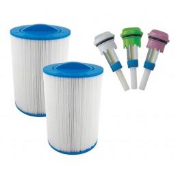 Pack de filtres et arômes spa exterieur